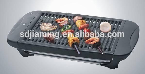 Aluminium Alloy Grill Pan, Portabl Electric BBQ Grill With OEM Item