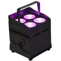 4X8W 4IN1 Battery Powered & Wireless DMX LED Stage Light