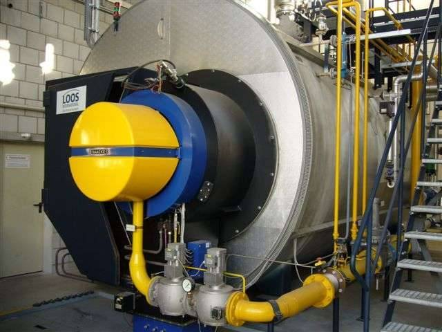 Steam boiler new and used from Germany