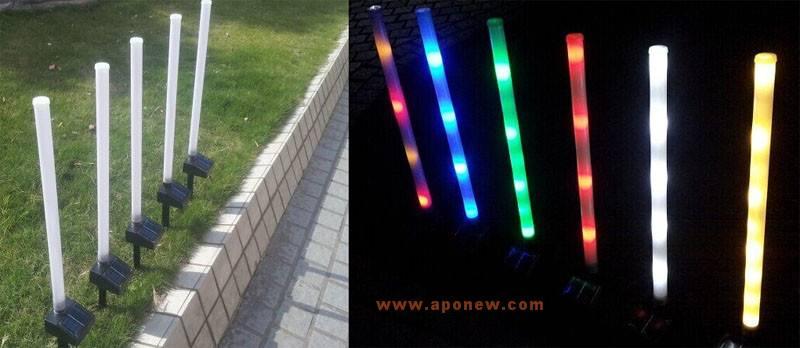 Colorful solar spike light / solar pole light