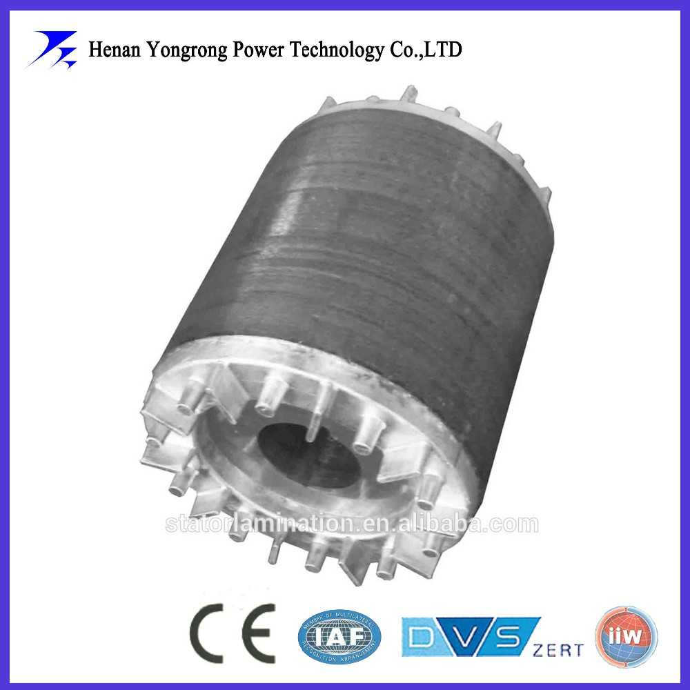 asynchronous motor stator and rotor laminated core OEM