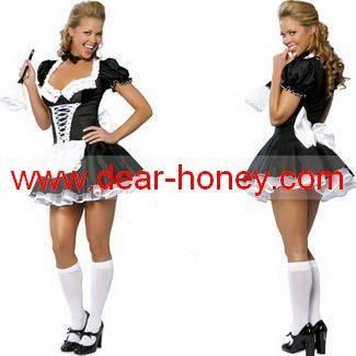 French Maid Sexy Costume MA-2666