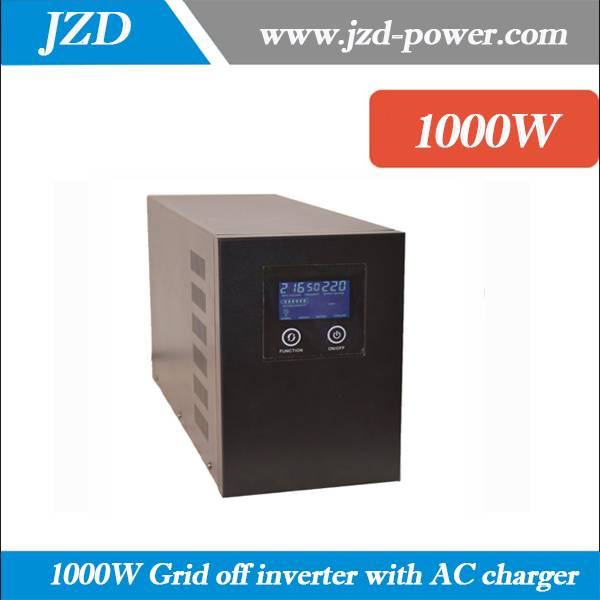 Pure sine Wave 1000W 24VDC to 220VAC 50HZ Solar Grid off Inverter with low Frenquency Inverter with
