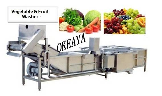Vegetable processing machine,vegetable washing machine
