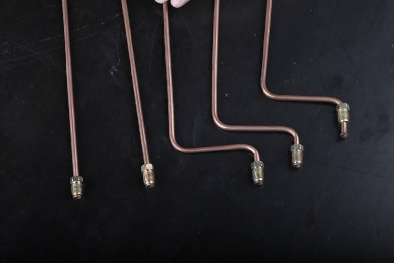 Bundy oil metal pipe for hydraulic brake