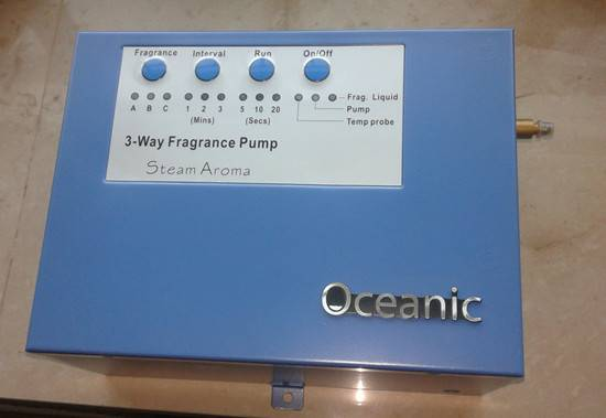 Oceanic Aroma Dispenser Machine for sauna