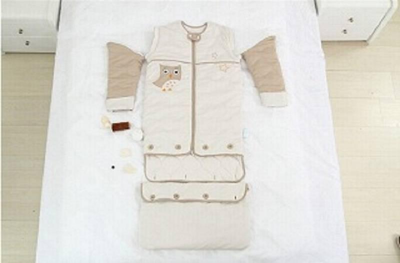 Sell LAT 100% Baby cotton muslin winter sleeping bag 110cm length