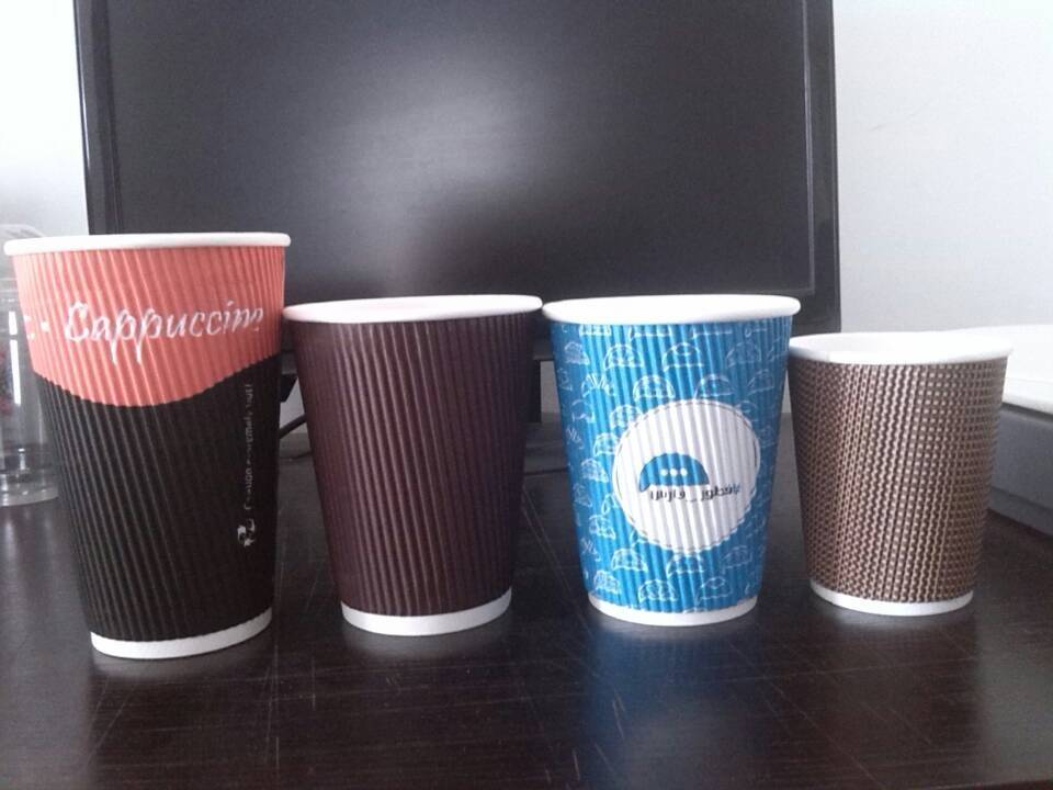 supply corrugated paper cups