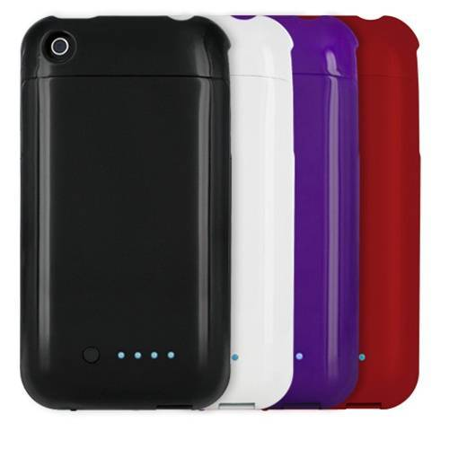 iPhone external rechargeable backup battery pack case for 2G/3G/3GS