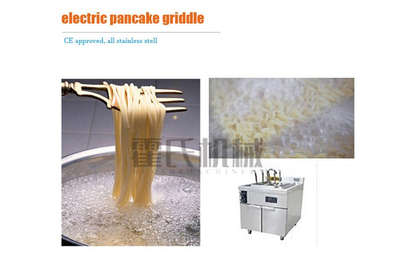 Electric Pancake Griddle, Ce Approved, All Stainless Stell