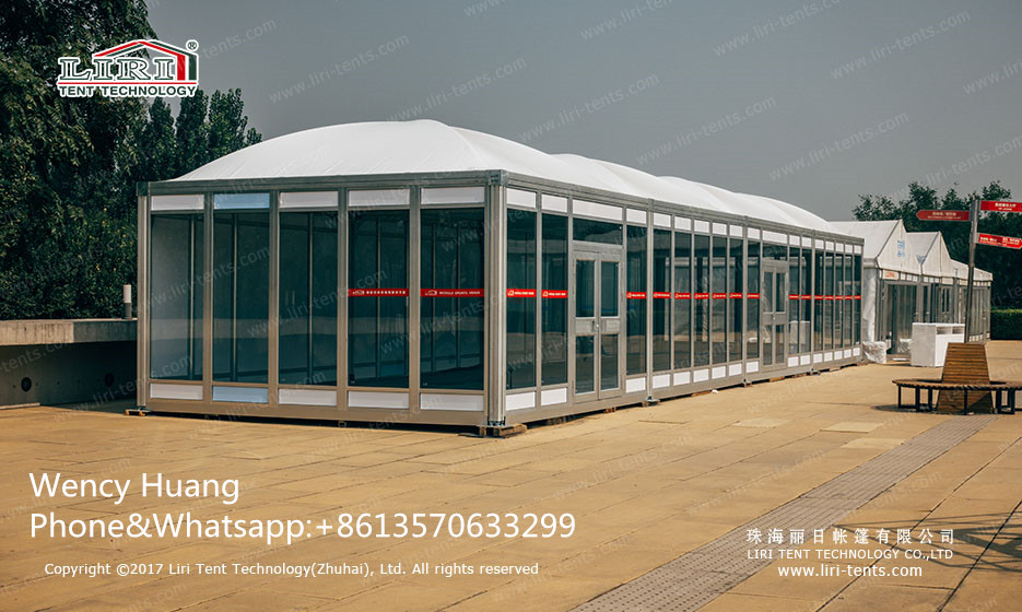 Liri Tent New Design Mudule Dome 5x20m Tent for Events
