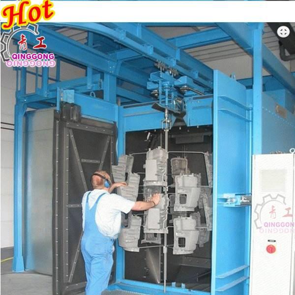 Hook Type Shot Blasting Machine / Cleaning Equipment