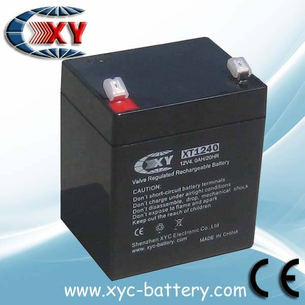 Security alarm systems batteries 12V4AH