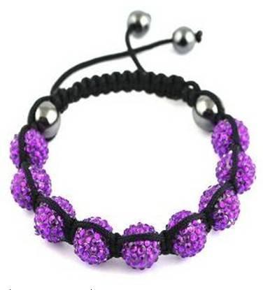 Sell Handmade Black Bluestone Resin Bead Bracelet,fashion jewelry
