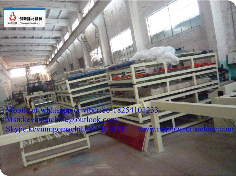 CE Certification Mgo Sandwich Panel Making Machine
