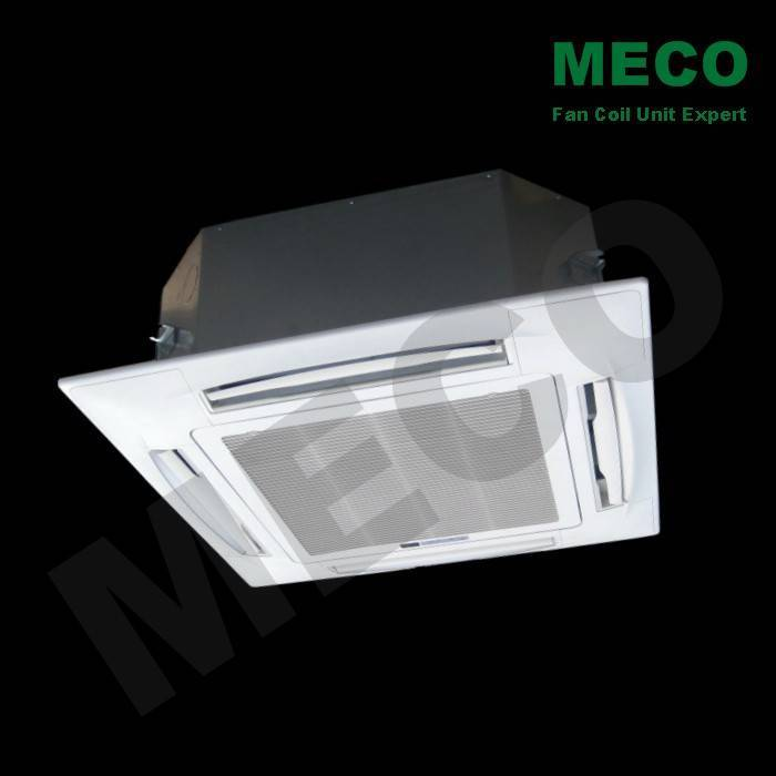 four way cassette fan coil unit with 2 pipes