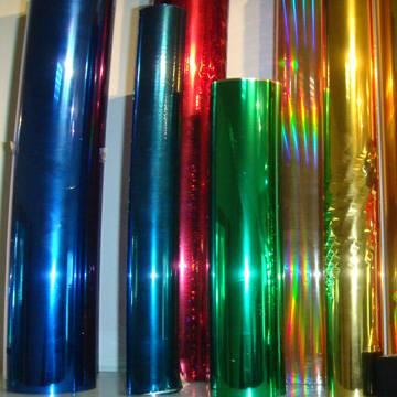 PET hologram hot stamping foil for paper