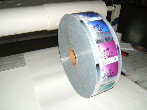 Printing Plastic Roll Film For Pocket Tissue Napkin Packaging