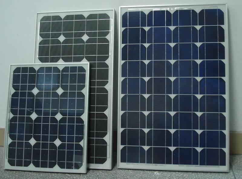 SELL 40W Mono Solar Panel with 18V Working Voltage for solar panel system ,CE Certificate,forCaravan