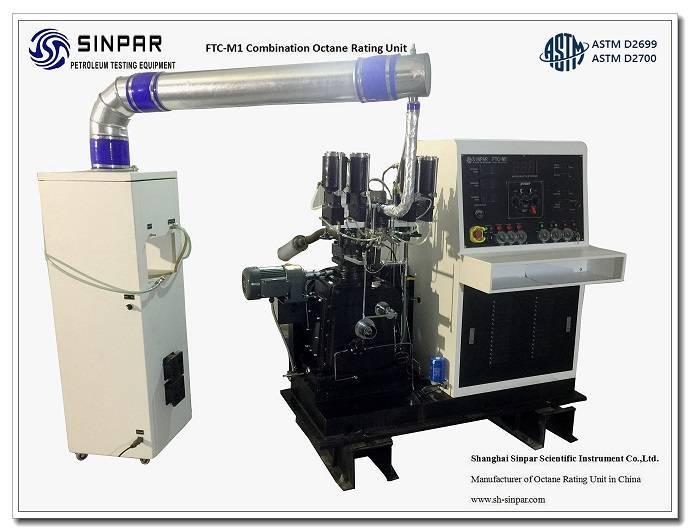Fuel octane number testing equipment