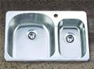 topmount stainless steel sink