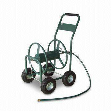 Garden Hose Reel, Pb-free and UV-resistant for Powder Coating, Measures 750 x 590 x 910mm