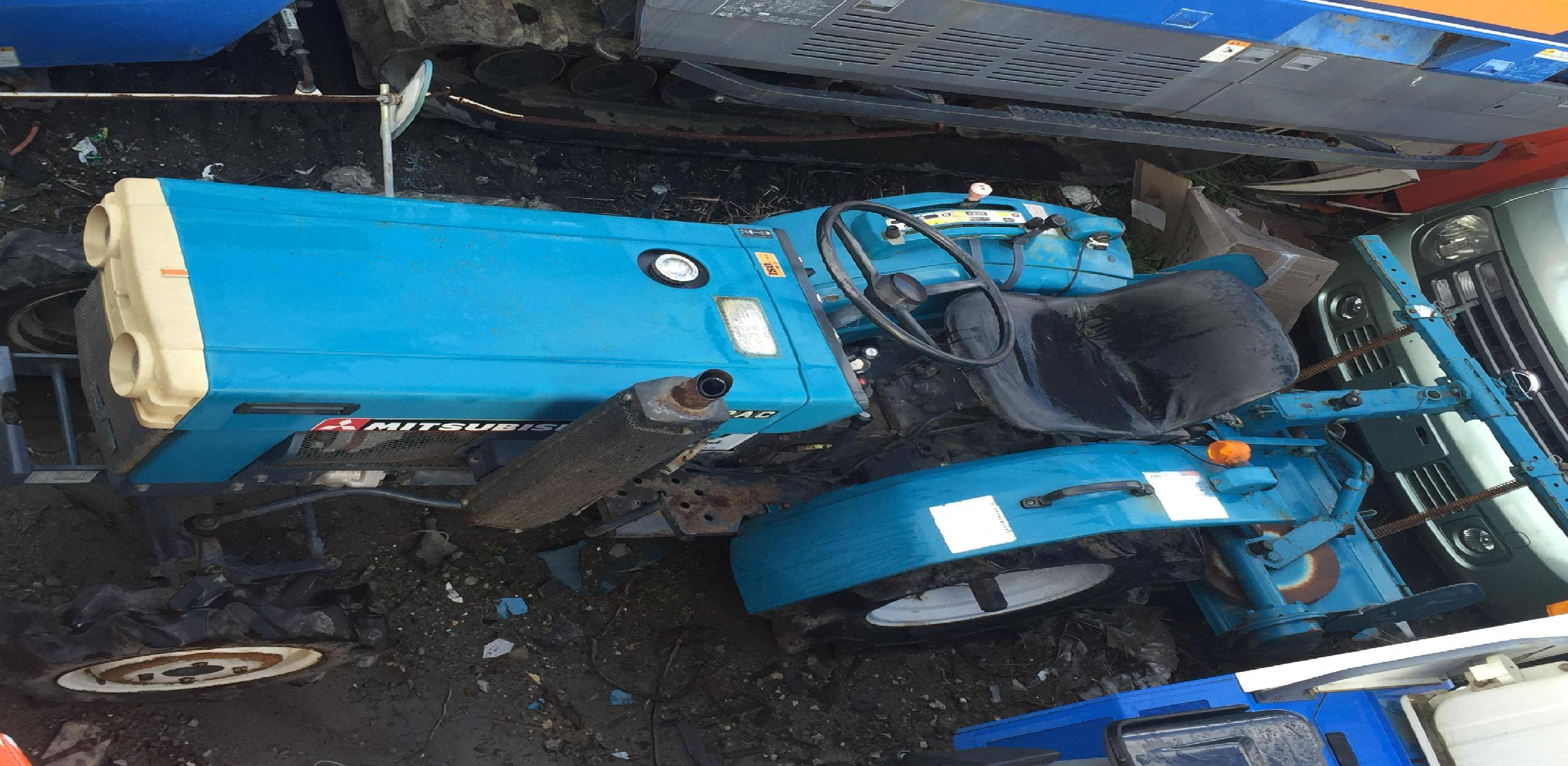 Used tractor Mitsubishi D1450FD
