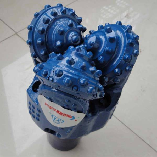 TCI tricone bit for hard rock,machine for water well drilling