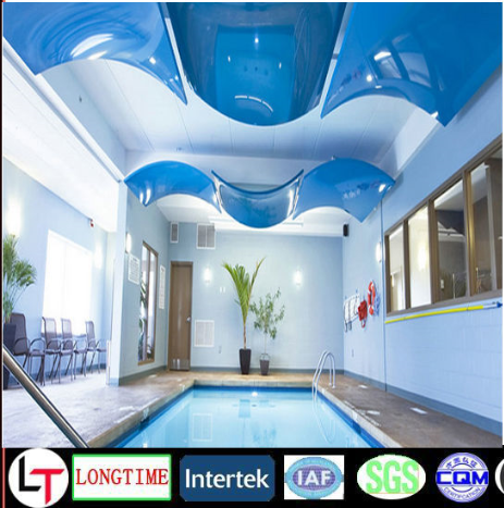 China High Quality Mirror PVC Stretch Ceiling Film