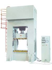 Single-action hydraulic press
