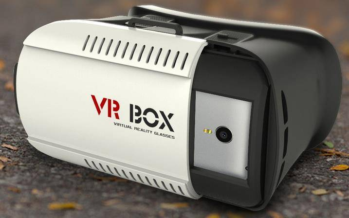 2016 New Design 3D VR Glasses Virtual Reality Headset 3D VR Box For Sale