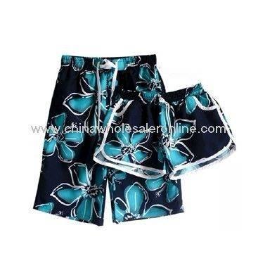 Men Color Full Beach Shorts