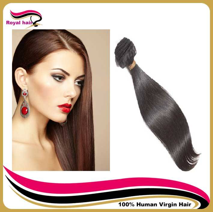 Grade 5A Brazilian hair extension remy hair straight,Free shipping