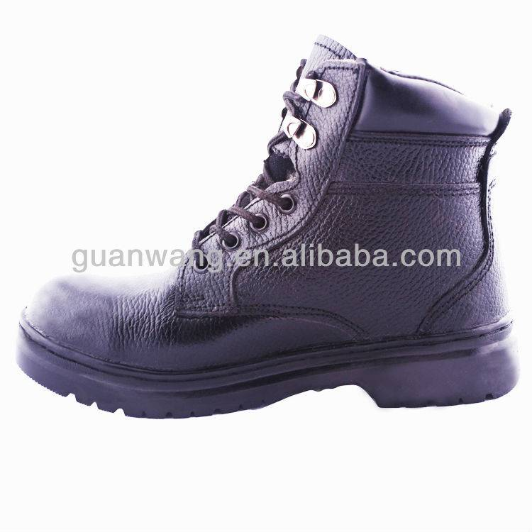 Good Price Black Steel Toe Safety Shoes With CE EN20345 For Construction/Mining/Electric