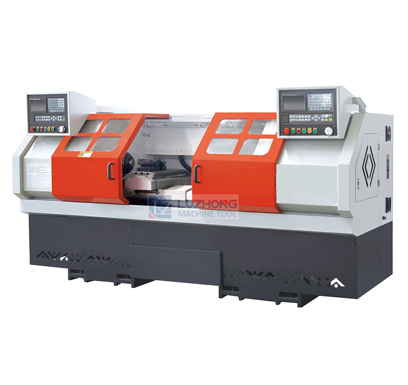 H6236Double Head CNC Lathe Machine