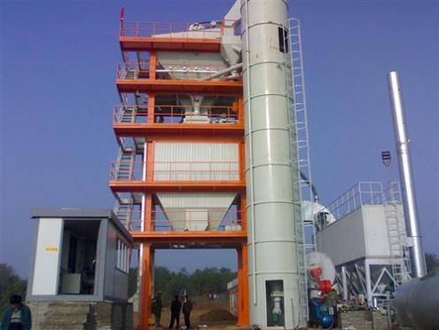 Asphalt Drum Mixing Plant With Capacity of 64TPH