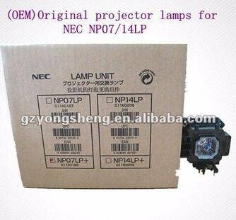 Original projector lamp moldue for NEC NP405G / NP410 / NP510 / NP510G NP14LP