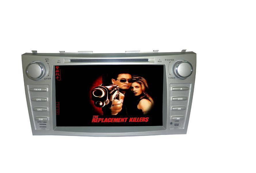 8.0 inch car GPS DVD Player for TOYATO /CAMRY(Digital screen)