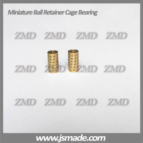 linear ball bearing retainer