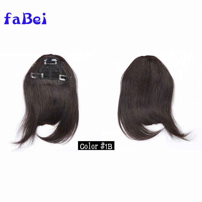 remy clip-in fringe bang cheap human hair bangs