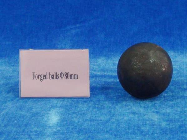 Forged steel media ball 80mm