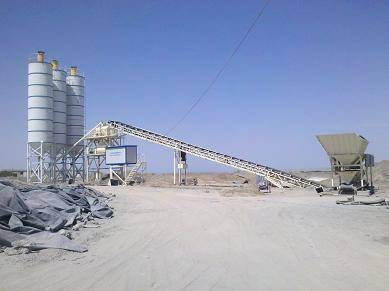 concrete mixing plant HZS60
