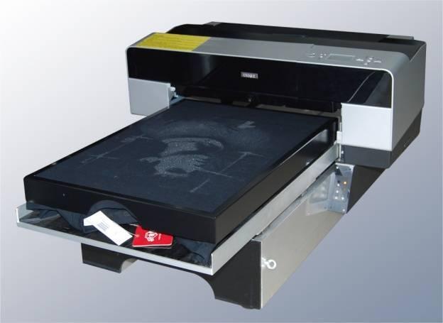 A3 Size Digital White Ink T-shirt Printer
