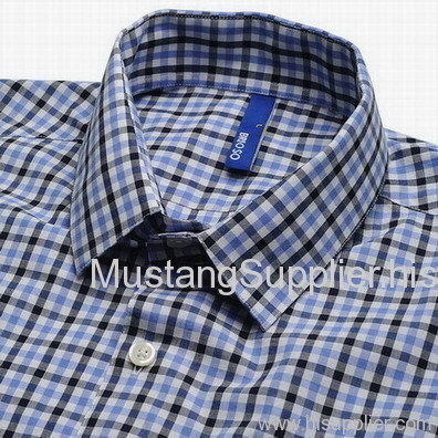 2018 New Design Hot Selling Genuine 100% cotton man's shirts