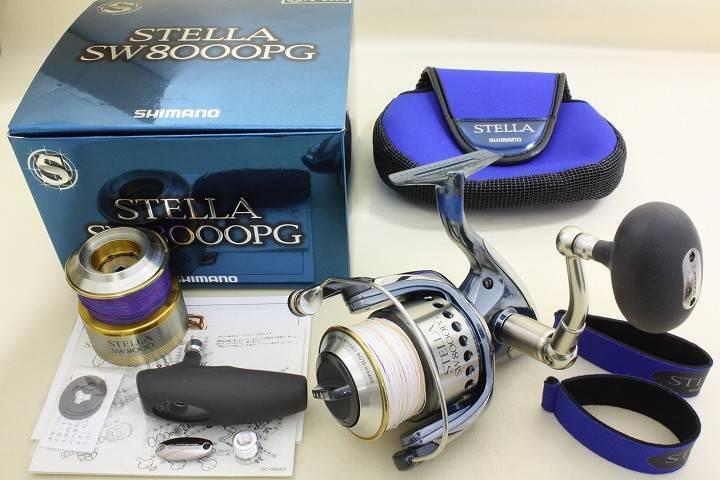 Shimano STELLA SW 8000-PG Spinning Reel