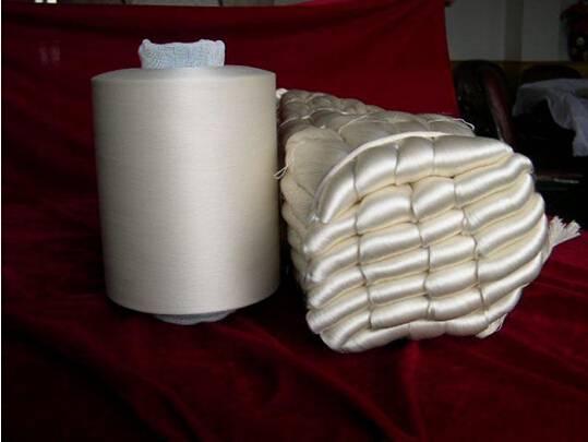 100% silk yarn