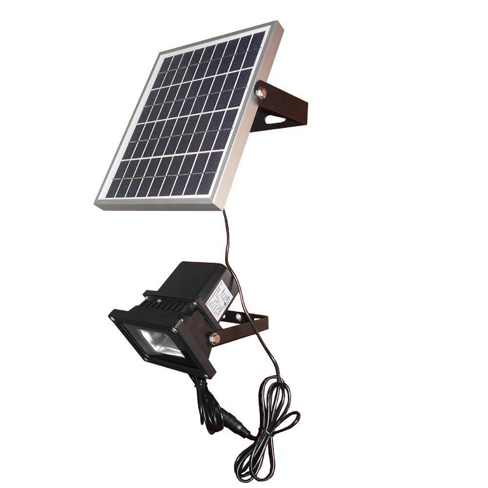 Solar Powered Panel Outdoor Waterproof LED Spot Lights Sensor Flood Lamps Wall Lampada Solar Luminar