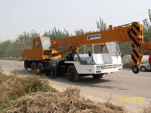 Sell Japan made TADANO TL250E mobile truck crane used tadano crane used tadano 25ton crane