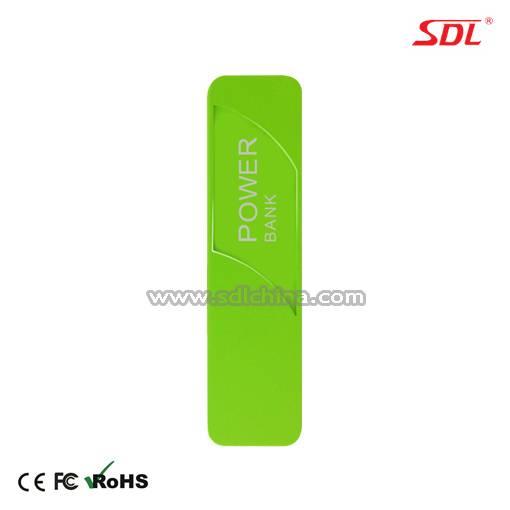 2600mAh Portable Power Bank Power Supply External Battery Pack USB Charger E101