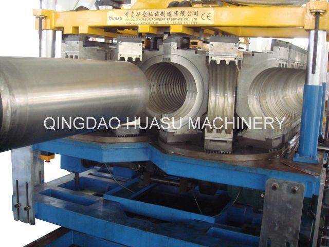 SBG800 HDPE/PP Double Wall Corrugated Pipe Extrusion Machine